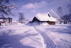 家のまわりや道路の雪を排除する場所に困ります
