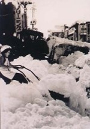雪を排除できないといろいろな問題が起きます